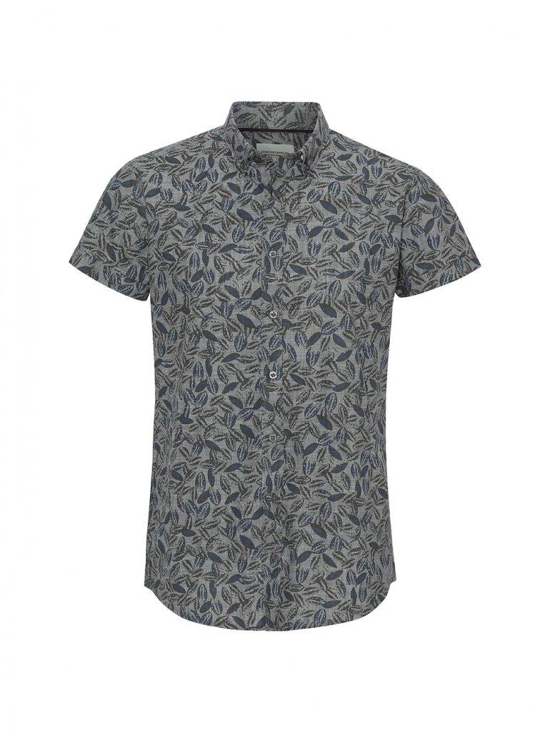 Marcus - Willum kortærmet skjorte - blå - Til herre - Størrelse: 2XL