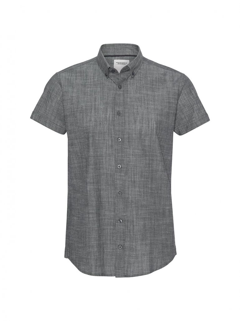 Marcus - Willum kortærmet skjorte - Til herre - Størrelse: Large
