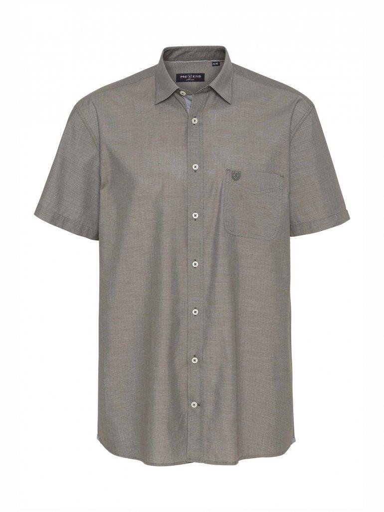 Pre End - Michigan kortærmet skjorte i oliven - Til herre - Størrelse: 2XL