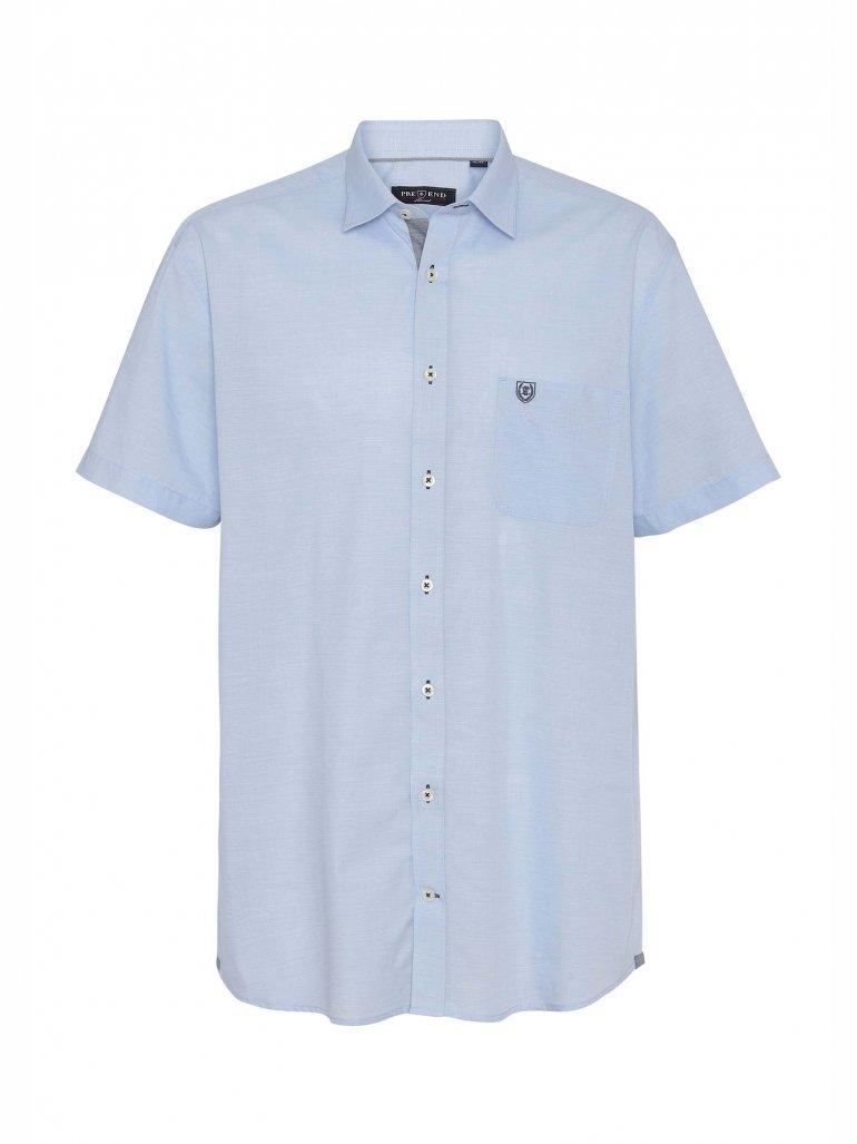 Pre End - Michigan kortærmet skjorte i blå - Til herre - Størrelse: XL