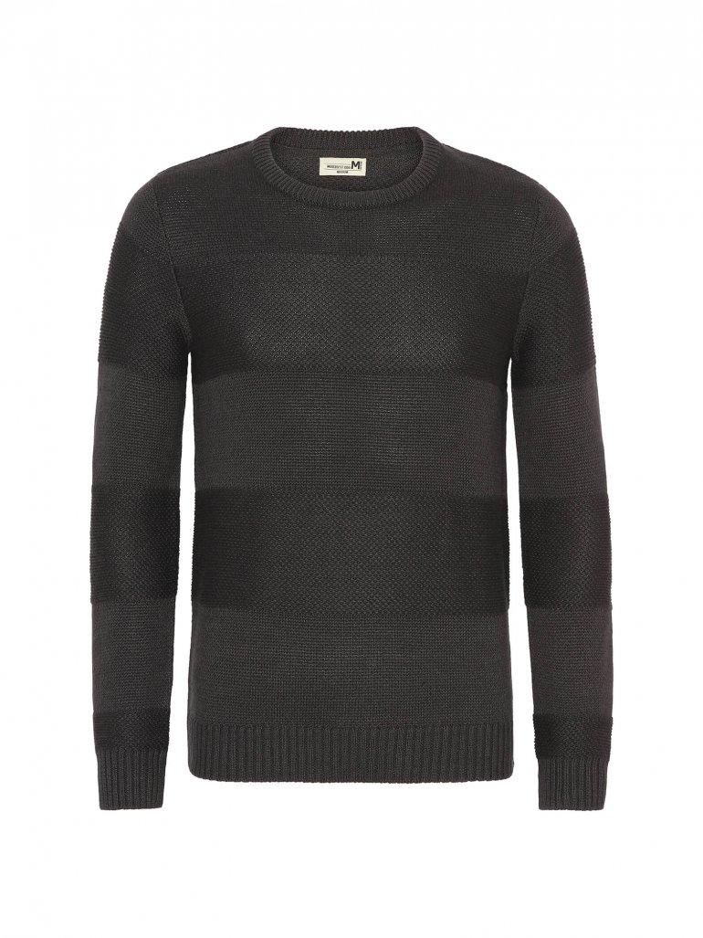 Marcus - Laany komfort strik i mørkegrå - Til herre - Størrelse: 2XL
