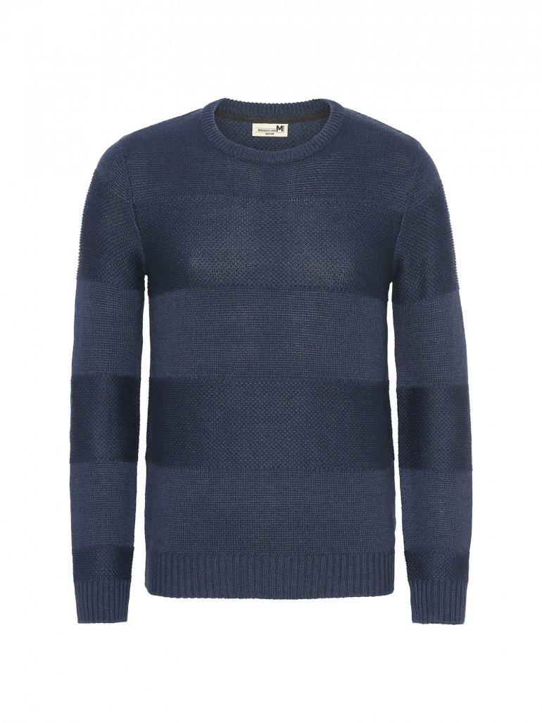Marcus - Laany komfort strik i blå - Til herre - Størrelse: XL